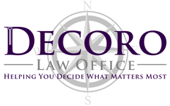Decoro Law Minneapolis Minnesota Logo